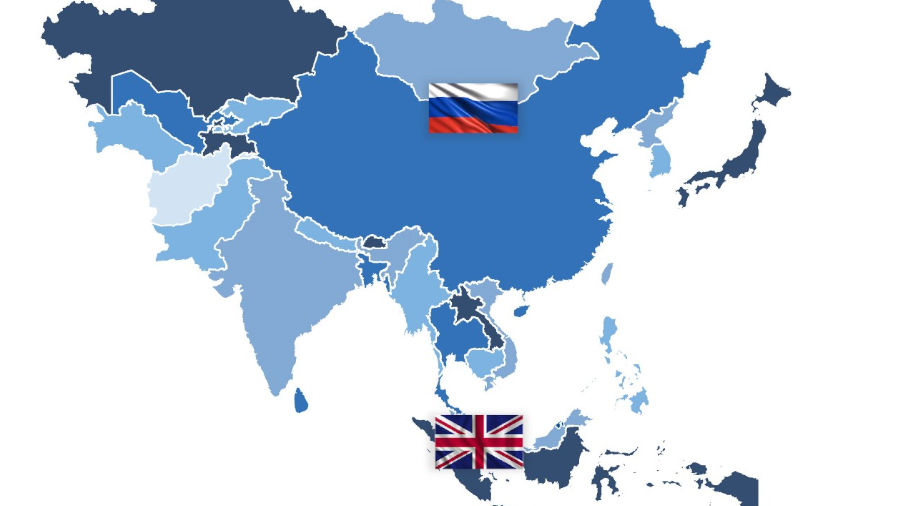Asia map 01 Featured